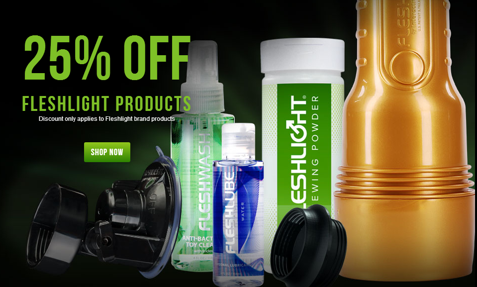 fleshlight coupon codes for december 2013